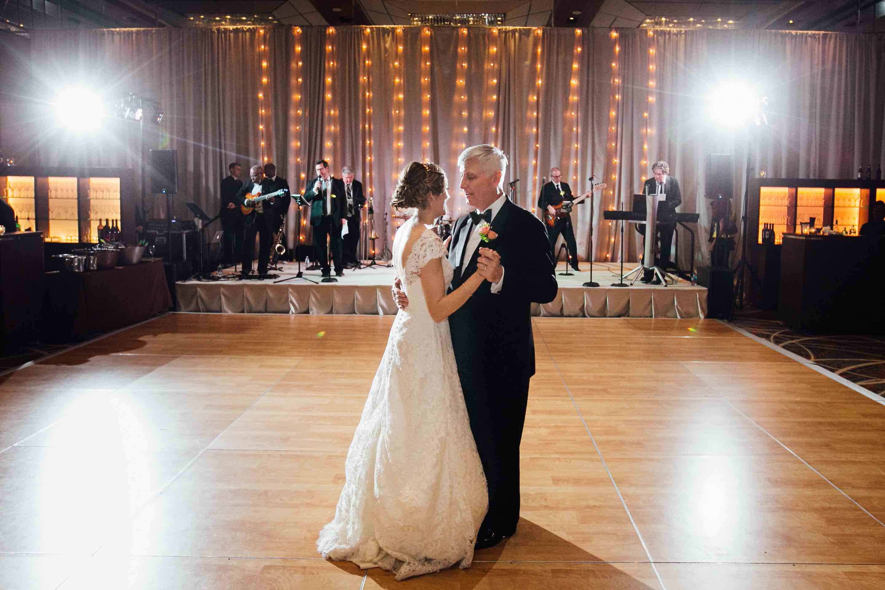 Four Seasons Baltimore Wedding: Father Daughter Dance